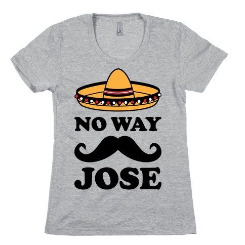 No Way Jose Funny  Spanish  Quote  Humor  Cute  Party Black Tank Top