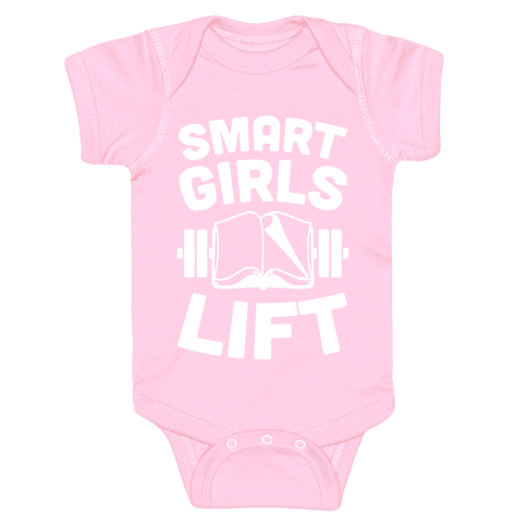 Smart Girls Lift Baby Onesy