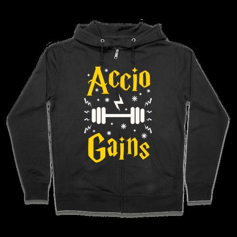Accio Gains Zip Hoodie