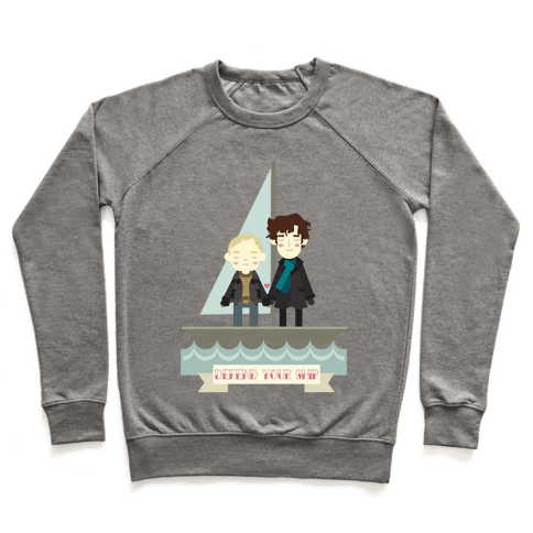 Sherlock Defend Your Ship Pullover