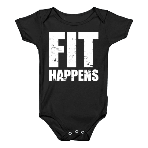 Fit Happens Baby Onesy