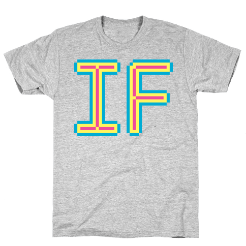 (AS) IF Mens T-Shirt