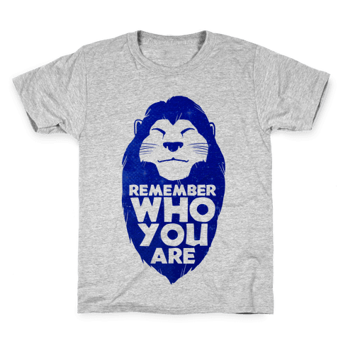 Remember Who You Are Kids T-Shirt