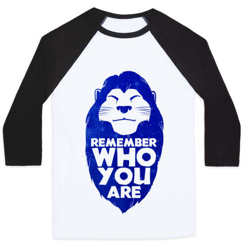 Remember Who You Are Baseball Tee