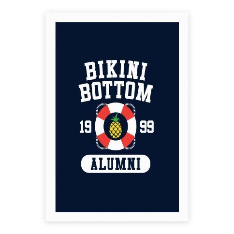 Bikini Bottom Alumni Poster