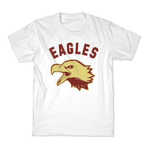 Eagles Maroon and Gold Kids T-Shirt