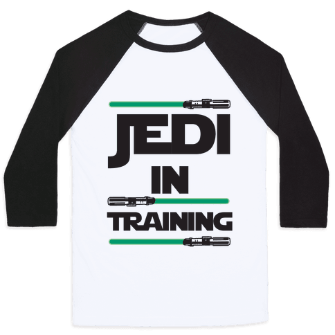 Jedi In Training Baseball Tee