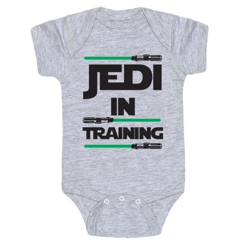 Jedi In Training Baby Onesy