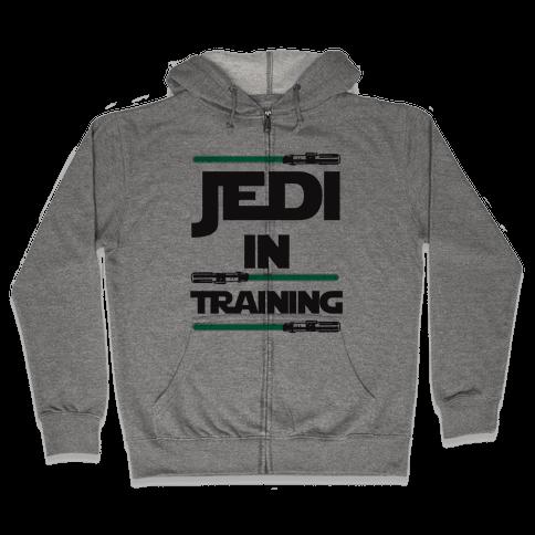 Jedi In Training Zip Hoodie