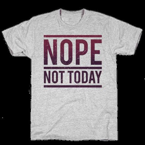 Nope Mens T-Shirt