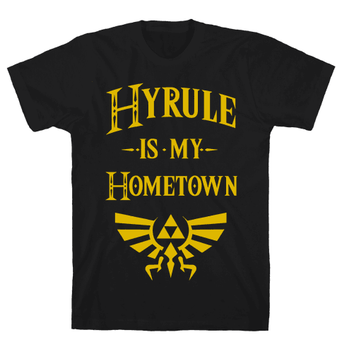 Hyrule Is My Hometown Mens T-Shirt