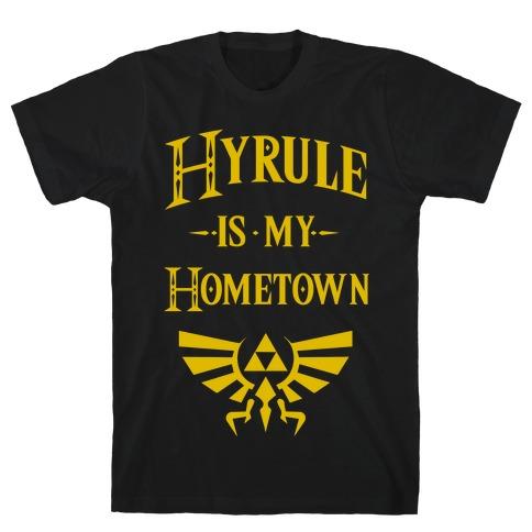 Hyrule Is My Hometown Mens T-Shirt
