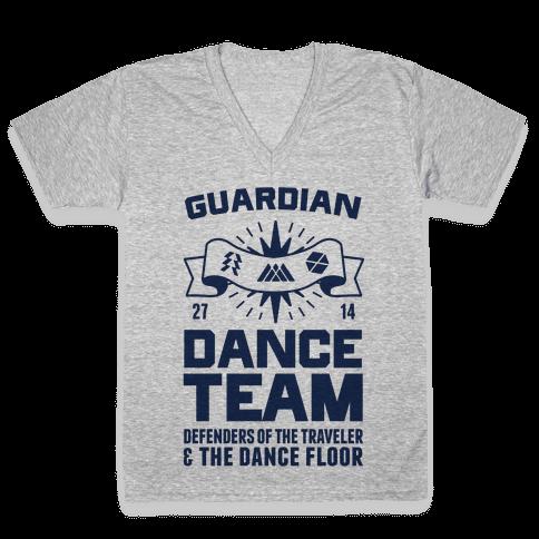 Guardian Dance Team V-Neck Tee Shirt