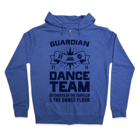 Guardian Dance Team Zip Hoodie