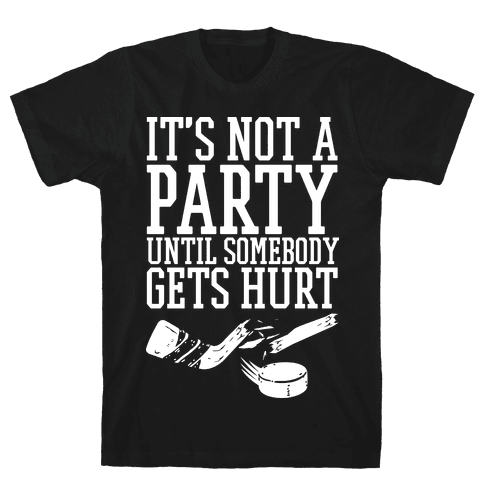 Hockey Party Mens T-Shirt