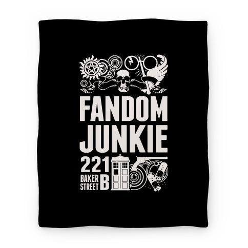 Fandom Junkie Blanket Blanket