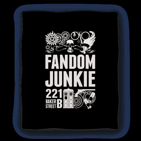 Fandom Junkie Blanket