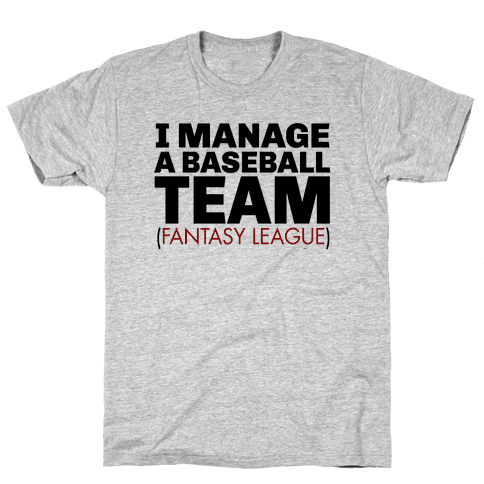 Baseball Manager Mens T-Shirt