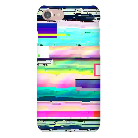 Glitch Pattern Phone Case