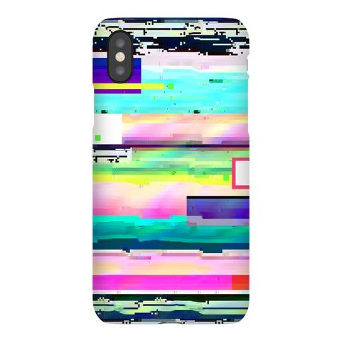 Glitch Pattern Phone Case