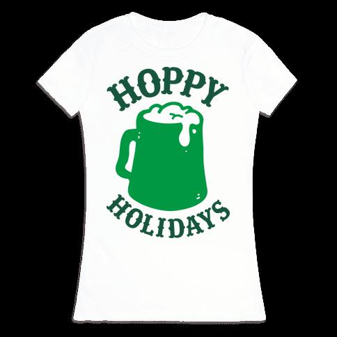 Hoppy Holidays Womens T-Shirt