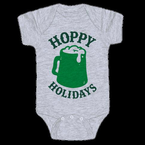 Hoppy Holidays Baby Onesy