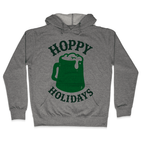 Hoppy Holidays Hooded Sweatshirt