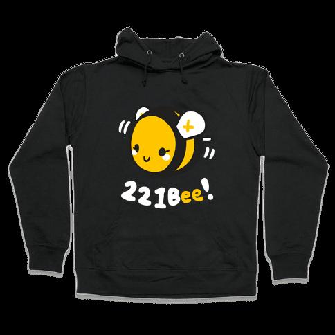 221 Bee Hooded Sweatshirt