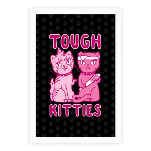 Tough Kitties Poster