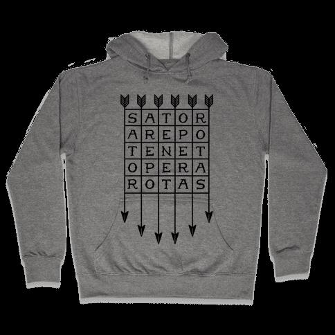 Sator Square Hooded Sweatshirt