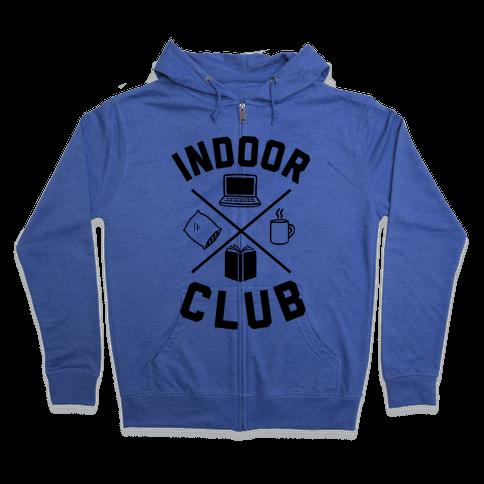 Indoor Club Zip Hoodie
