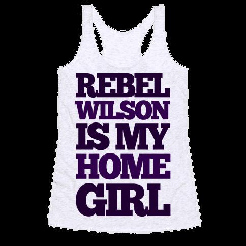 Rebel Wilson Homegirl Racerback Tank Top