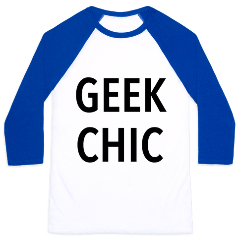 Geek Chic Baseball Tee