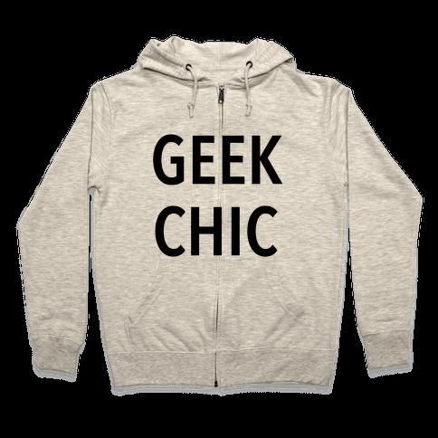 Geek Chic Zip Hoodie