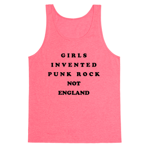 Girls Invented Punk Rock Tank Top