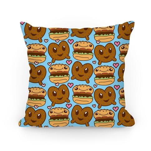 Pretzel Burger Love