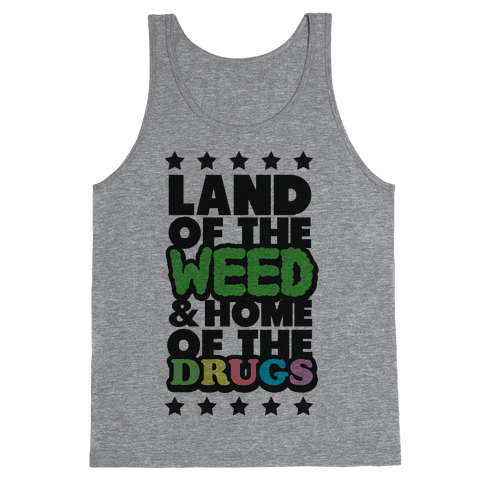 Land of the Weed Tank Top