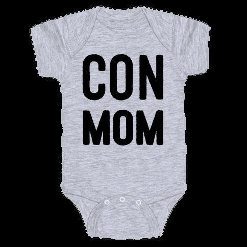 Con Mom Baby Onesy