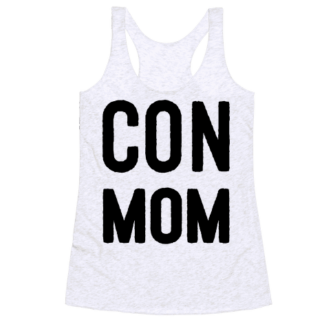 Con Mom Racerback Tank Top