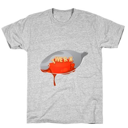 Alphabet Twerk Spoon T-Shirt