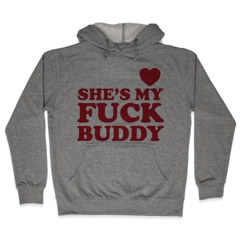 F*** Buddies (Couples) Hooded Sweatshirt