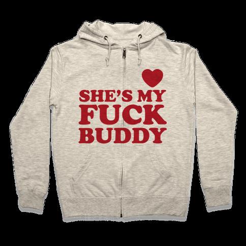 F*** Buddies (Couples) Zip Hoodie