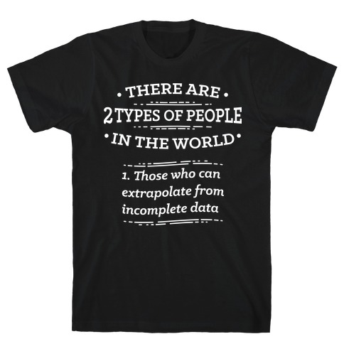 There Are Two Types Of People In The World T-Shirt