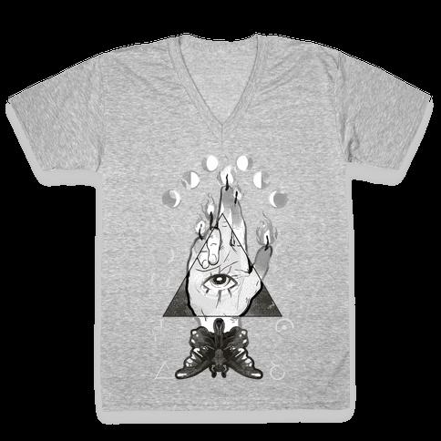 Hand Of Glory V-Neck Tee Shirt