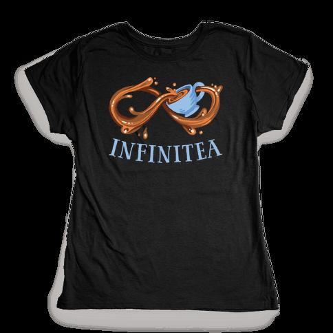 Infinite Tea Womens T-Shirt