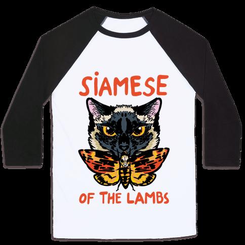 Siamese of The Lambs Baseball Tee