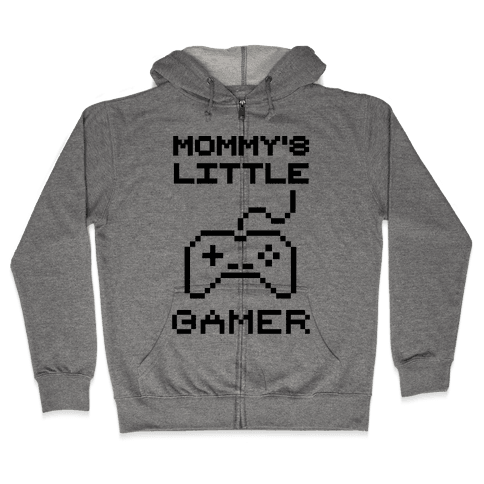 Mommy's Little Gamer Zip Hoodie