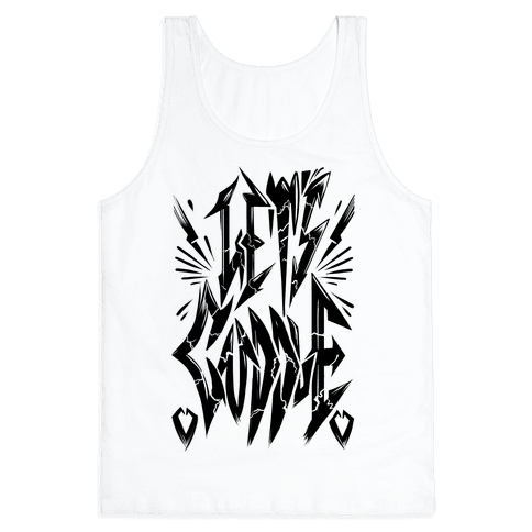 Let's Cuddle (Metal) Tank Top