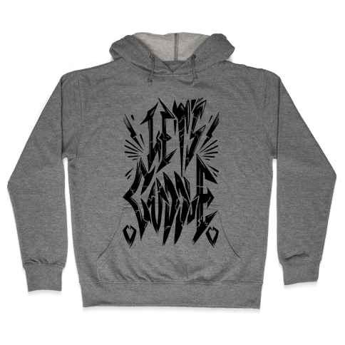 Let's Cuddle (Metal) Hooded Sweatshirt