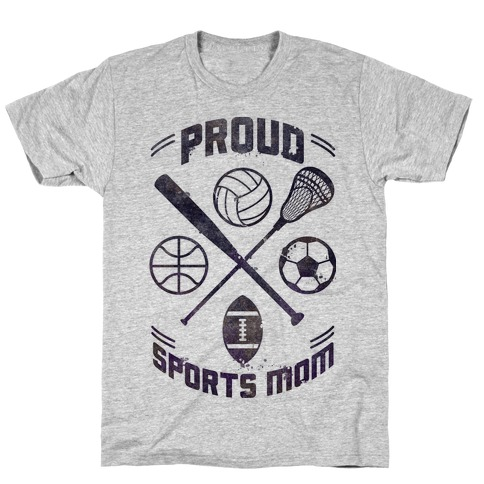 Proud Sports Mom T-Shirt